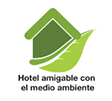 label hotel amigable con el medio ambiente