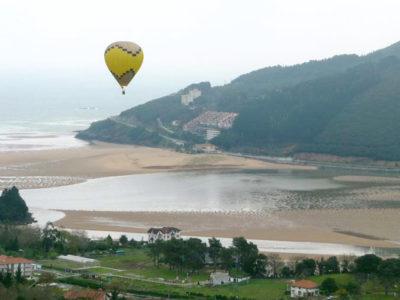 Paseo en globo en el País Vasco